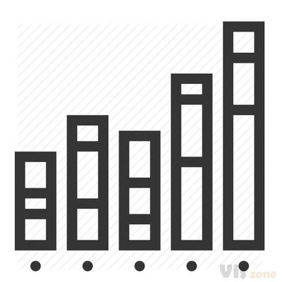 Analysis, bar, chart, graph, growth, planning stats, stacked column icon - Download on Iconfinder